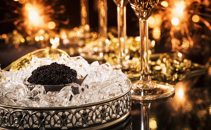Bacchus caviar experience