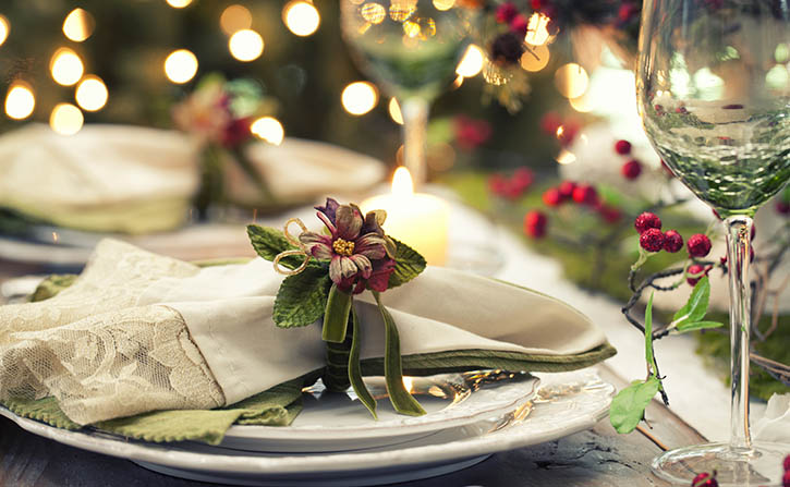 Christmas dining at Airways Hotel