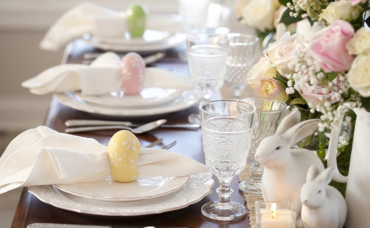 Easter lunch buffet at Vue