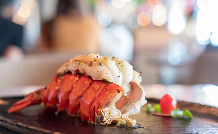 Vue lobster delight every Monday