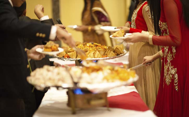 Vue Indian buffets at Airways Hotel