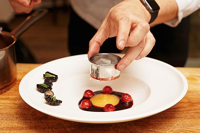 Bacchus French masterclass and special French menu